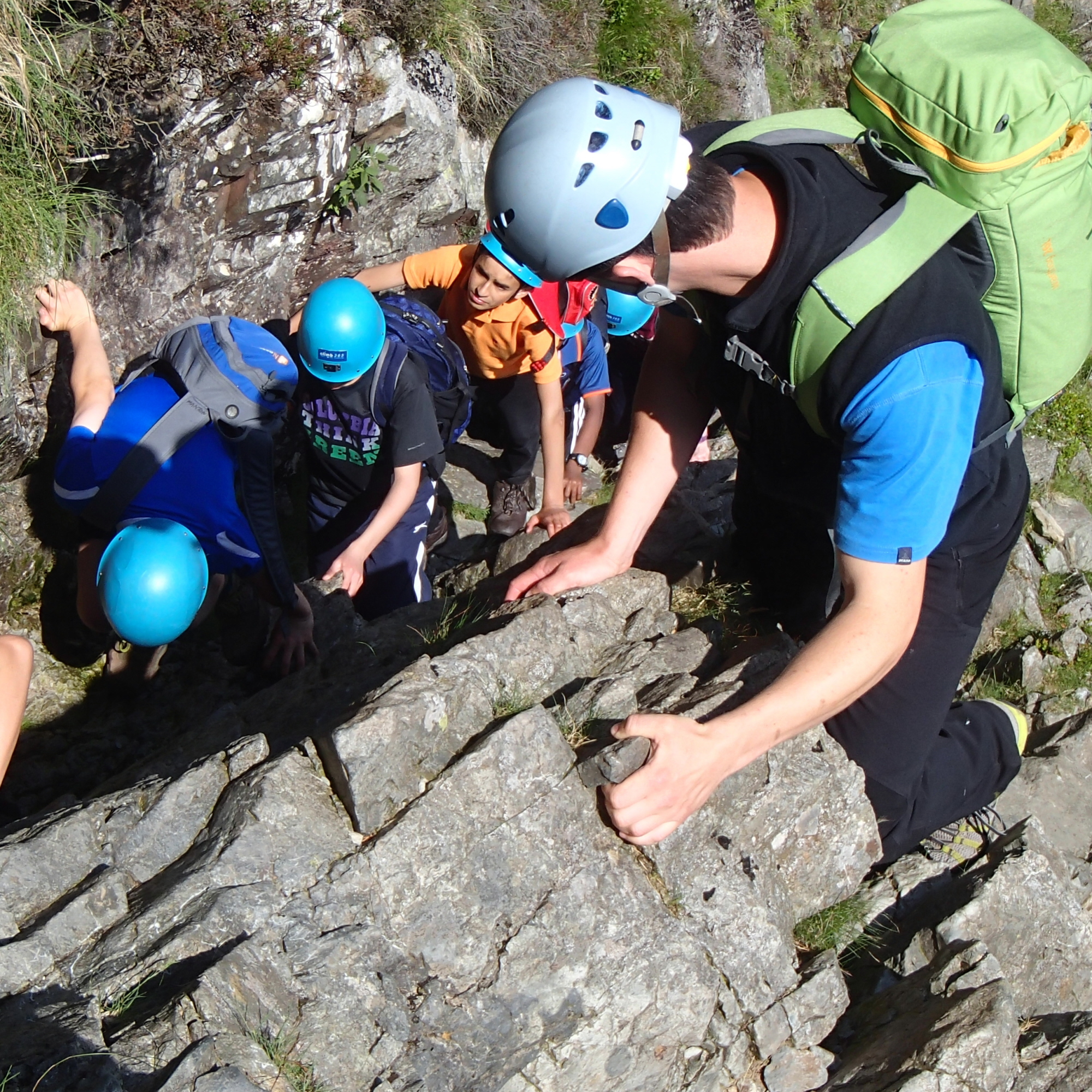 Mountaineering & scrambling