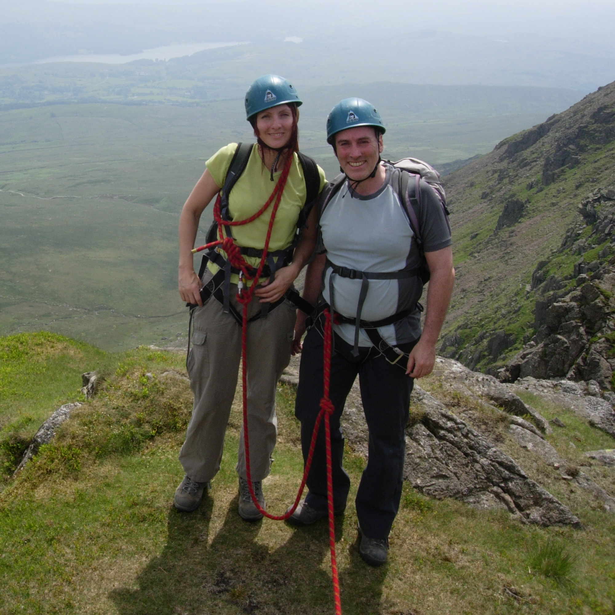 Beginners scrambling course Lake District