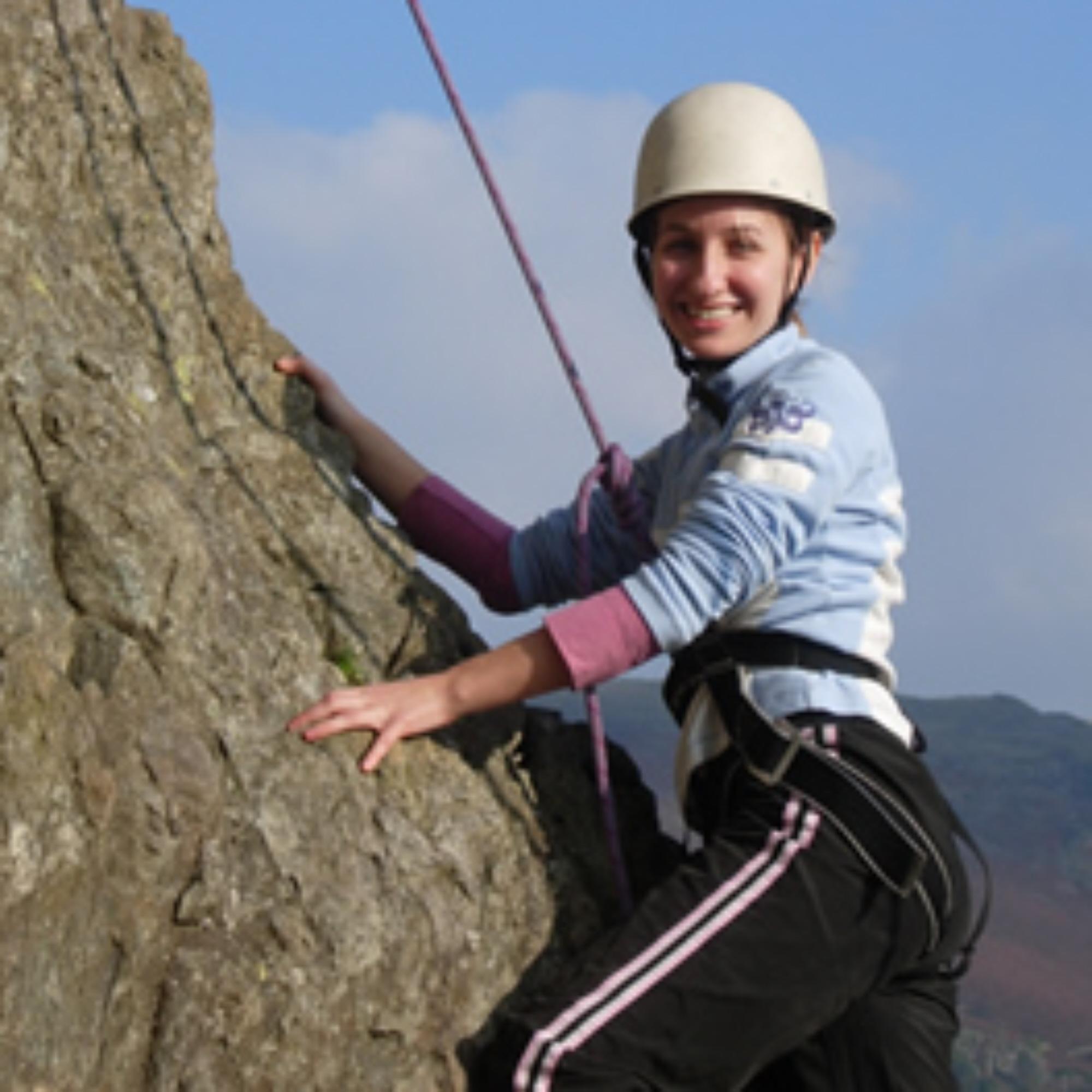 Rock climbing course Lake Disrict