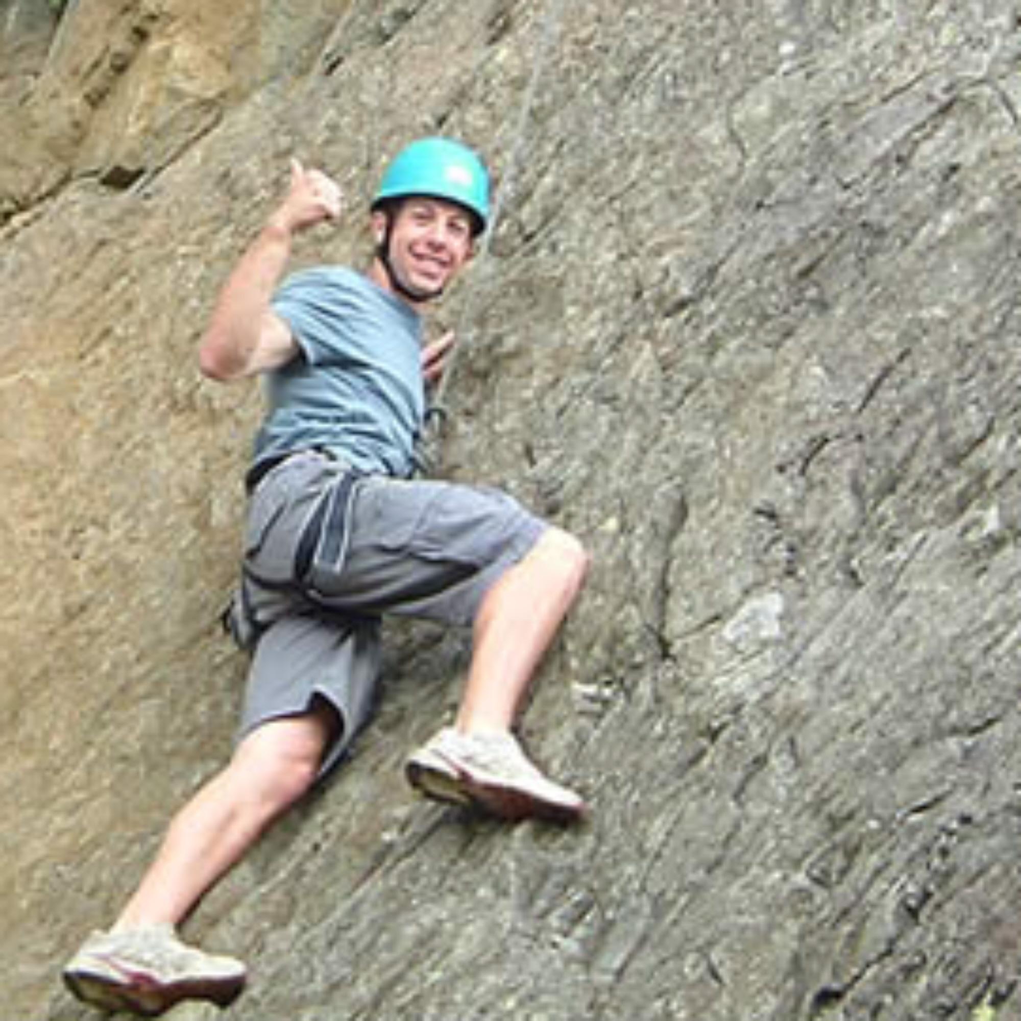 rock climbing course Lake District