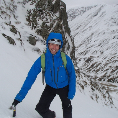 Advanced winter mountaineering course
