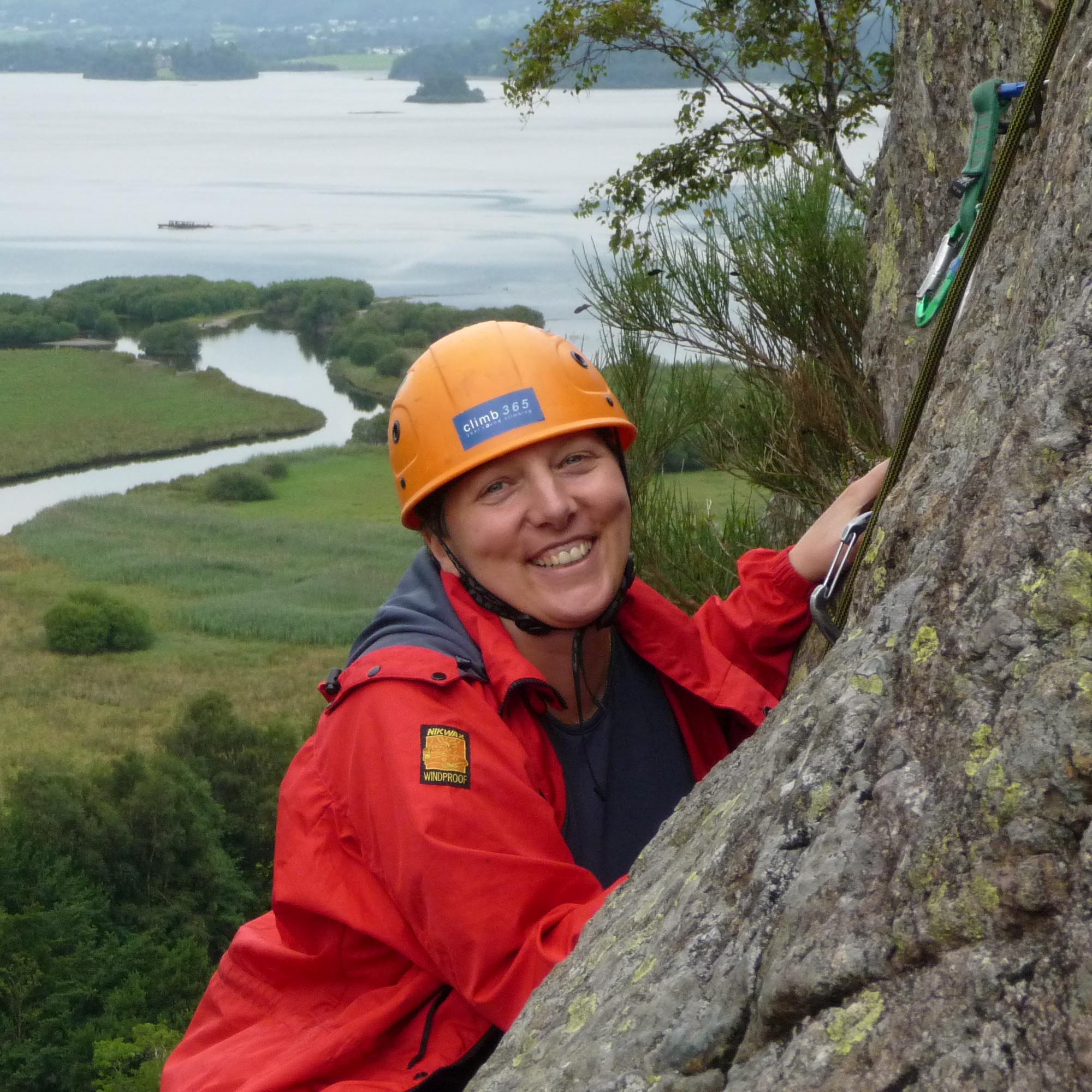 Beginners rock climbing course