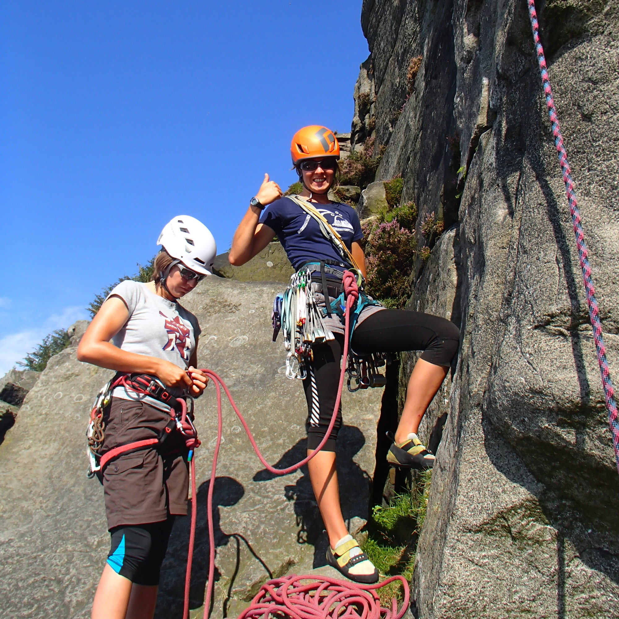 Rock Climbing Instructor Training Course
