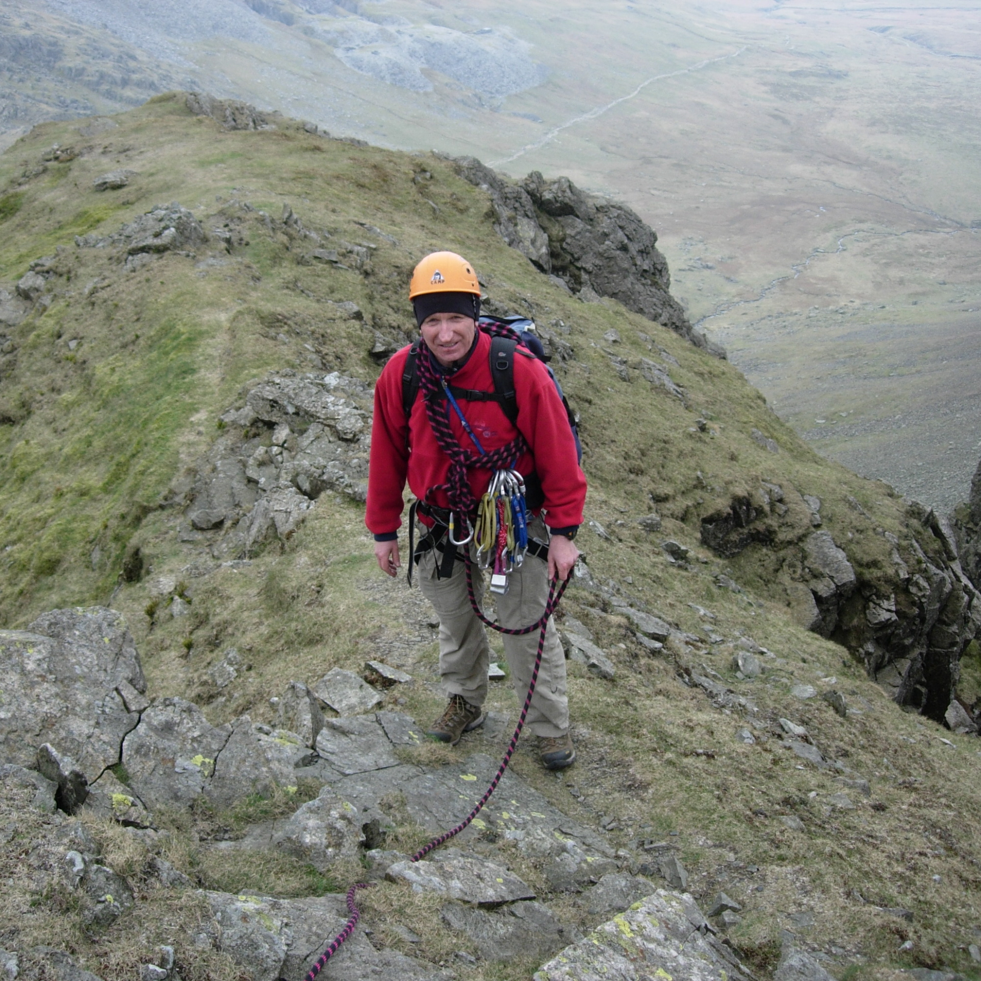 Advanced mountaineering course
