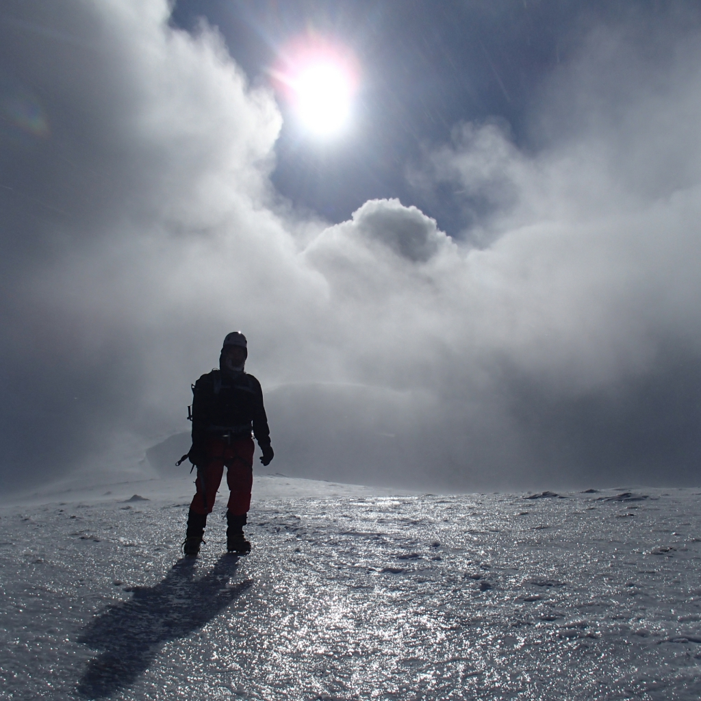 Introduction to winter mountaineering course