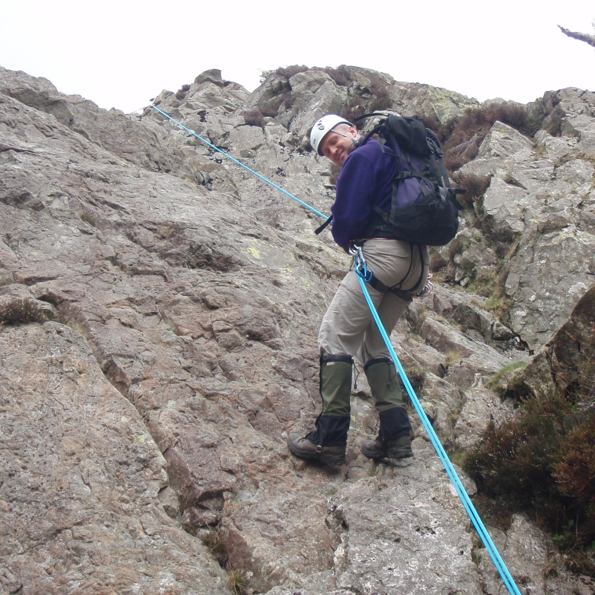 Rope work for scrambling