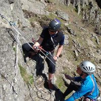 Self rescue for climbers