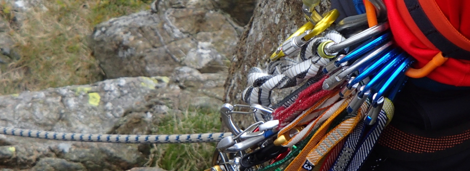 Ropework for scrambling