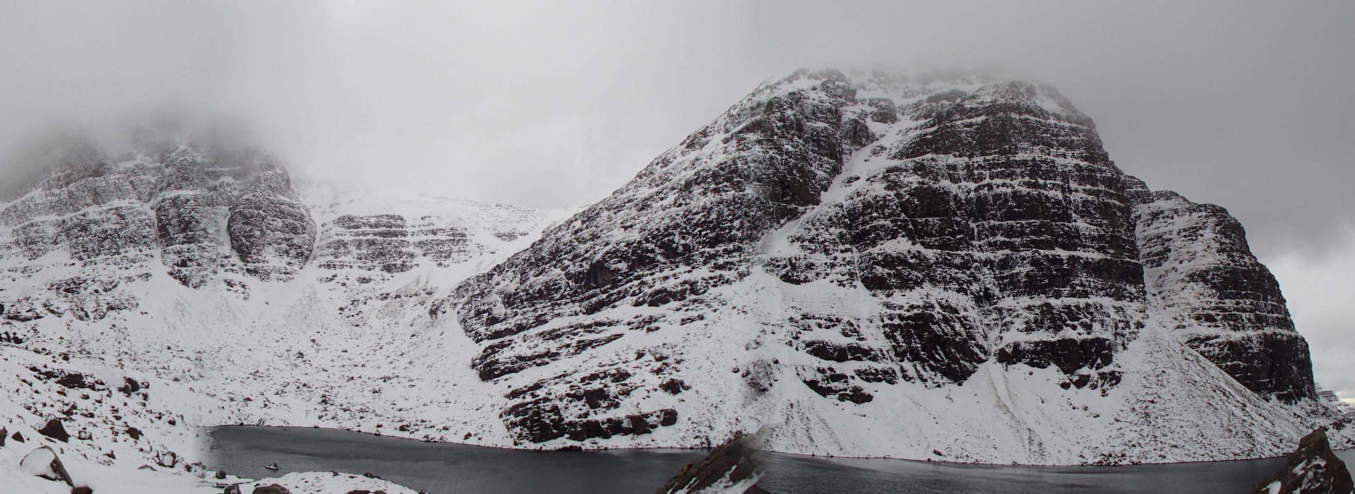 Advanced winter climbing course