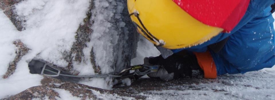 Winter climbing courses