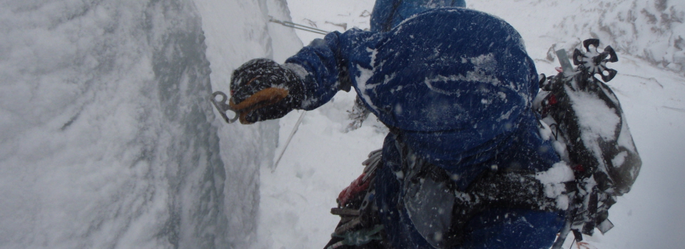 Winter climbing courses
