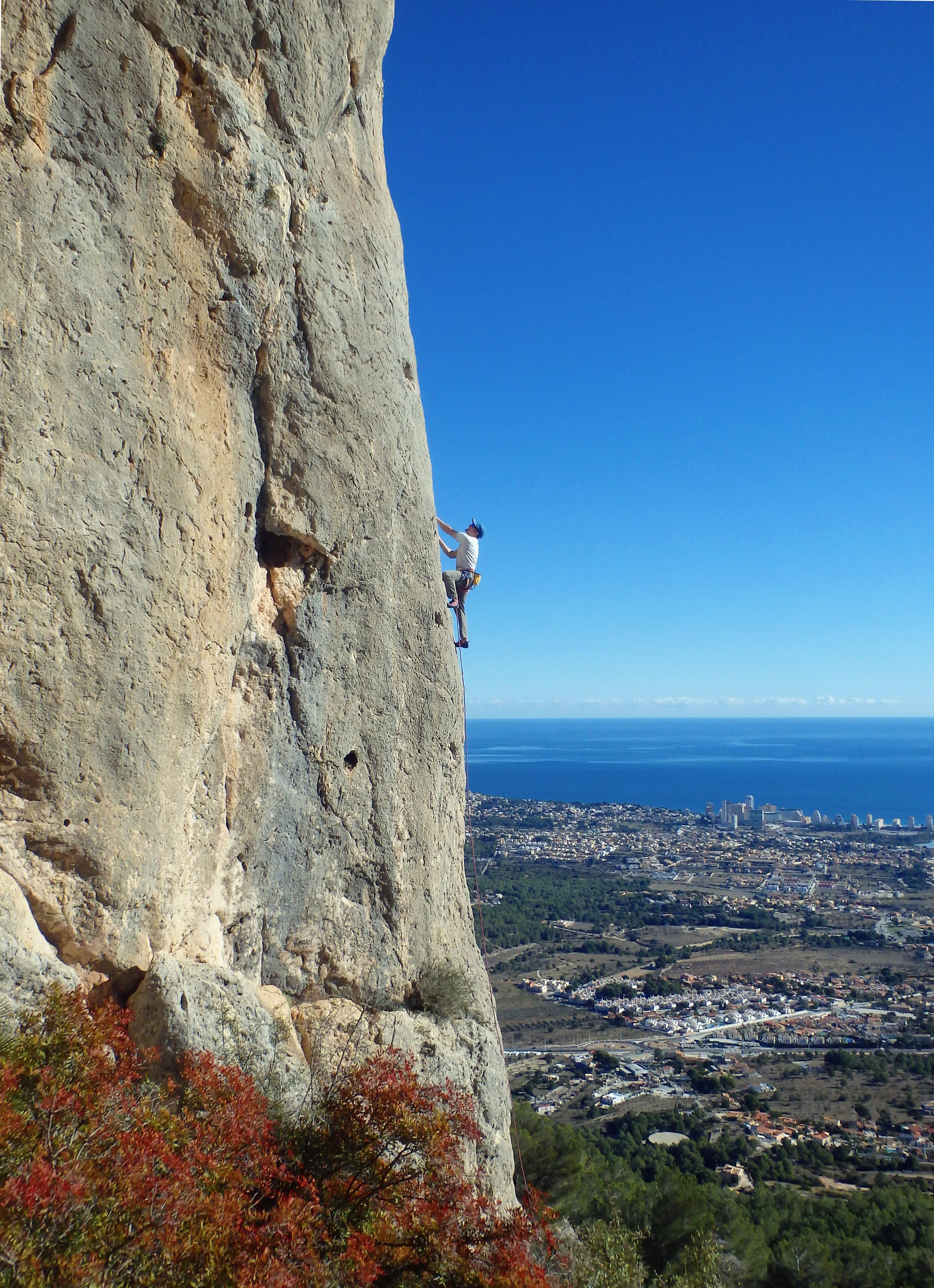 Rock Climbing Development Instructor assessment course