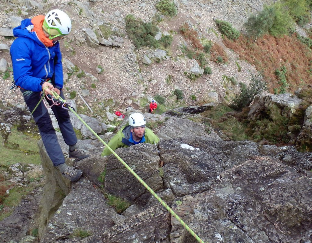Rock Climbing Development Instructor assessment course