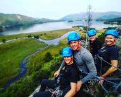 Rock climbing Lake District