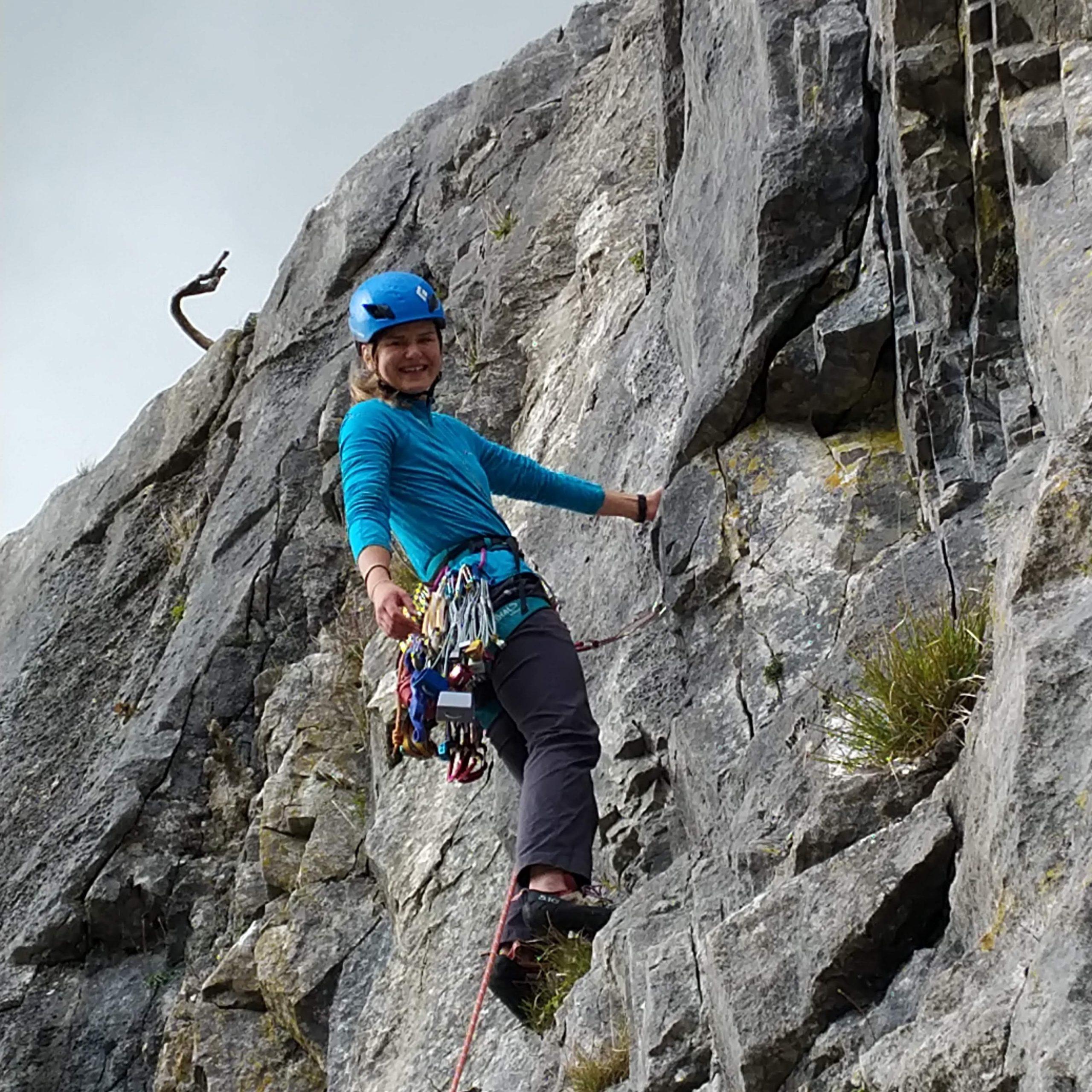 Rock Climbing Instructor training course