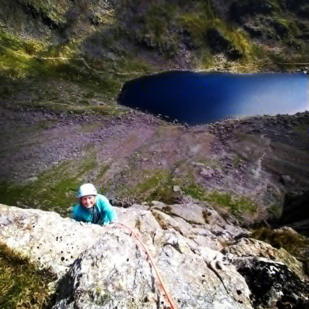 Classic rock climbing course Lake District