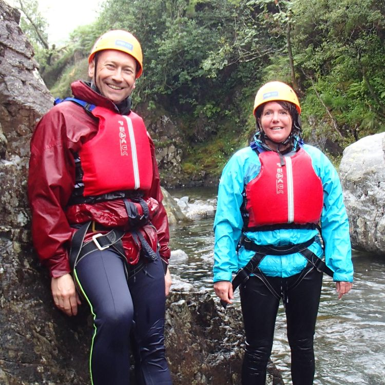 Stoney croft Canyoning