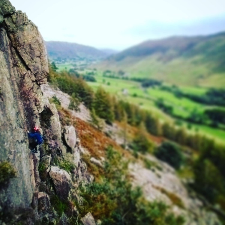 Classic Rock climbing course Lake District