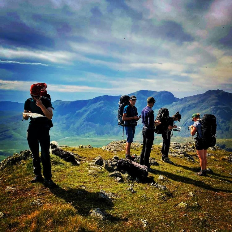 Mountain Leader training course